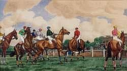 Le Cheval, Les Courses, Le Polo:   MAURICE TAQUOY