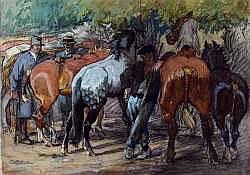 Le Cheval, Les Courses, Le Polo:  PIERRE DUBAUT