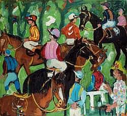 Le Cheval, Les Courses, Le Polo:  Pierre