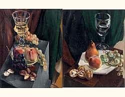 Henry de WAROQUIER 1881-1970 - Deux natures mortes