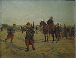 Emile CHEPFER 1876-1944 - Les grandes manaeuvres