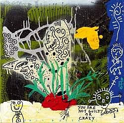 PAUL KOSTABI né en 1962 - GUILTY AND CRAZY
