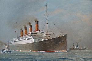 Oil Painting: Colin Verity (1924 - ), RMS