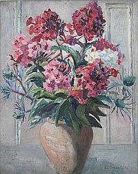 Elizabeth C Fisher Clay (1871 - 1959), still life