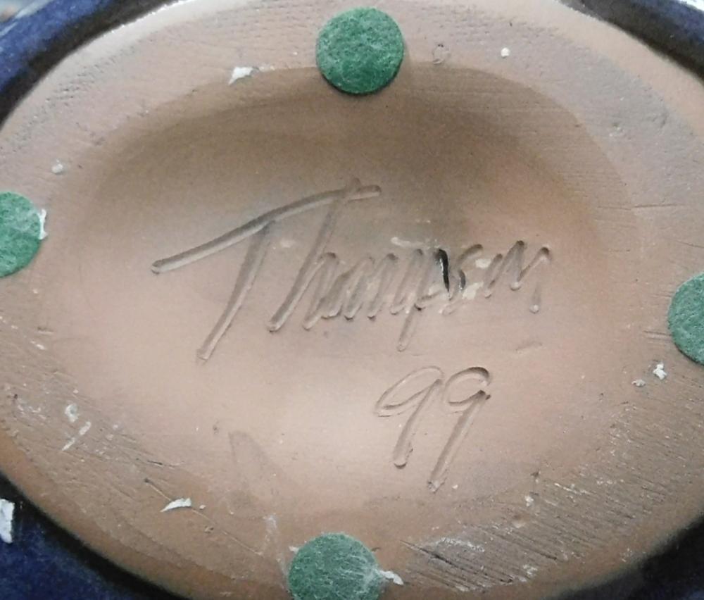 thompson art pottery dragon egg hatching