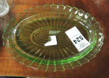 Green Sierra Oval Platter