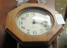 Waltham Battery Operated Regulator Clock