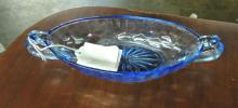AUNT POLLY DEPRESSION GLASS DISH