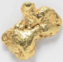 0.3737 Gram Alaska Natural Gold Nugget