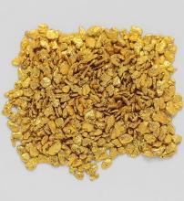 0.7019 Gram Alaska Natural Gold Nuggets / Flakes