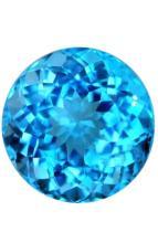 Natural FineIntense Swiss Blue Topaz
