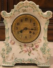 Porcelan Table Clock