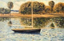 Claude Monet Oil on Canvas