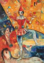 Marc Chagall Oil on Canvas