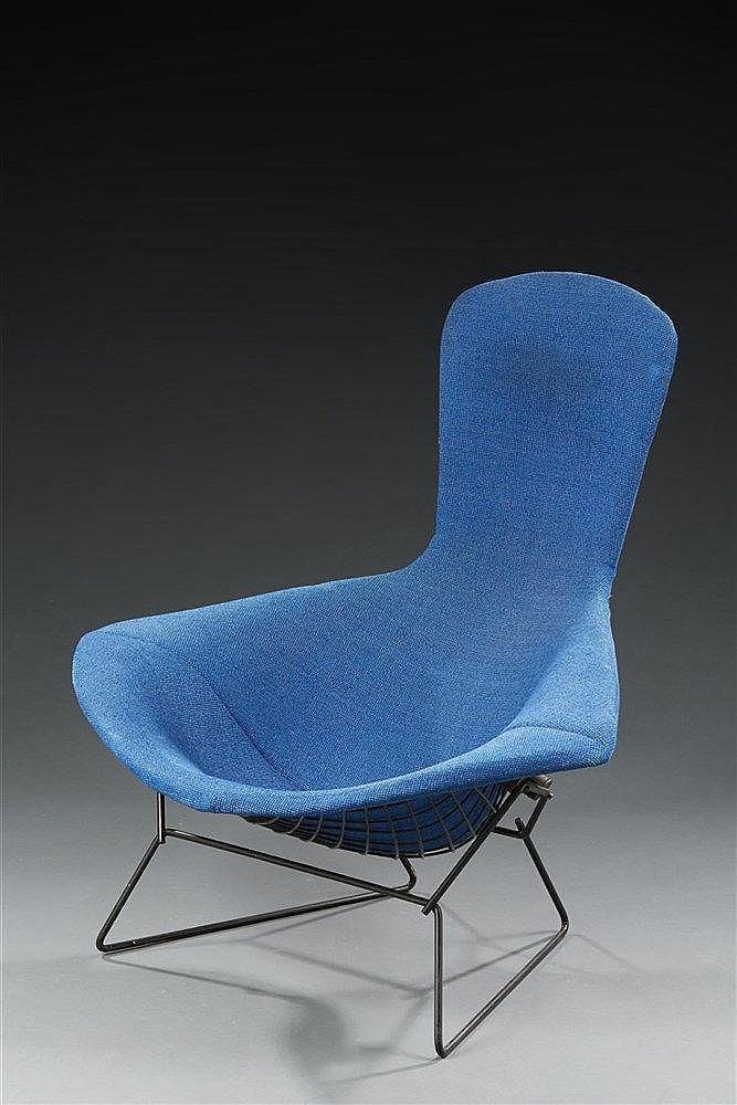 Harry Bertoïa (1915-1978) ?& Knoll Editeur Fauteuil modèle Bird à structur