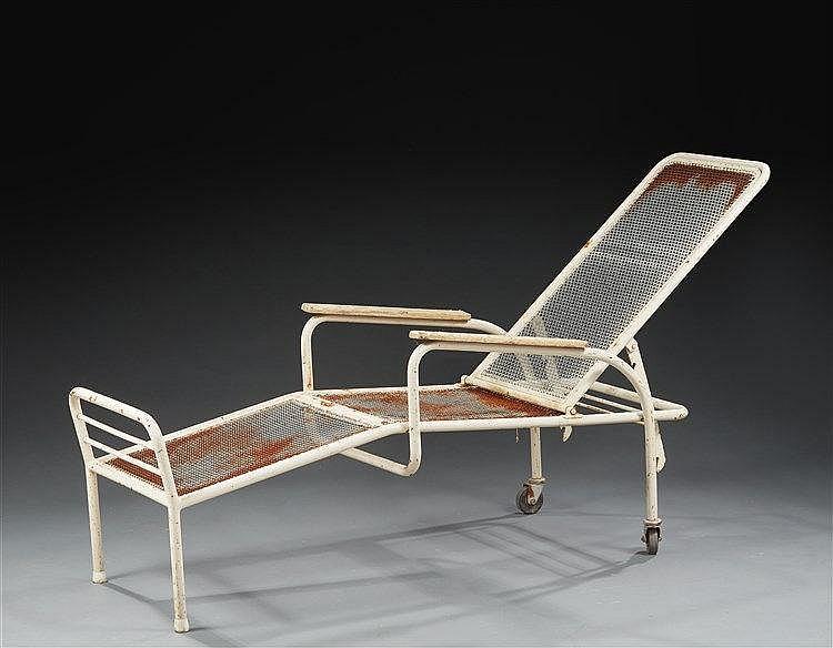 Jean Prouve & Jules Leleu ?(1901-1984 & 1883-1961)  Fauteuil dit Martel de