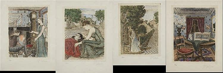 Paul delvaux 1897 1994 la chemin e le bless la mort su for Paul delvaux le miroir