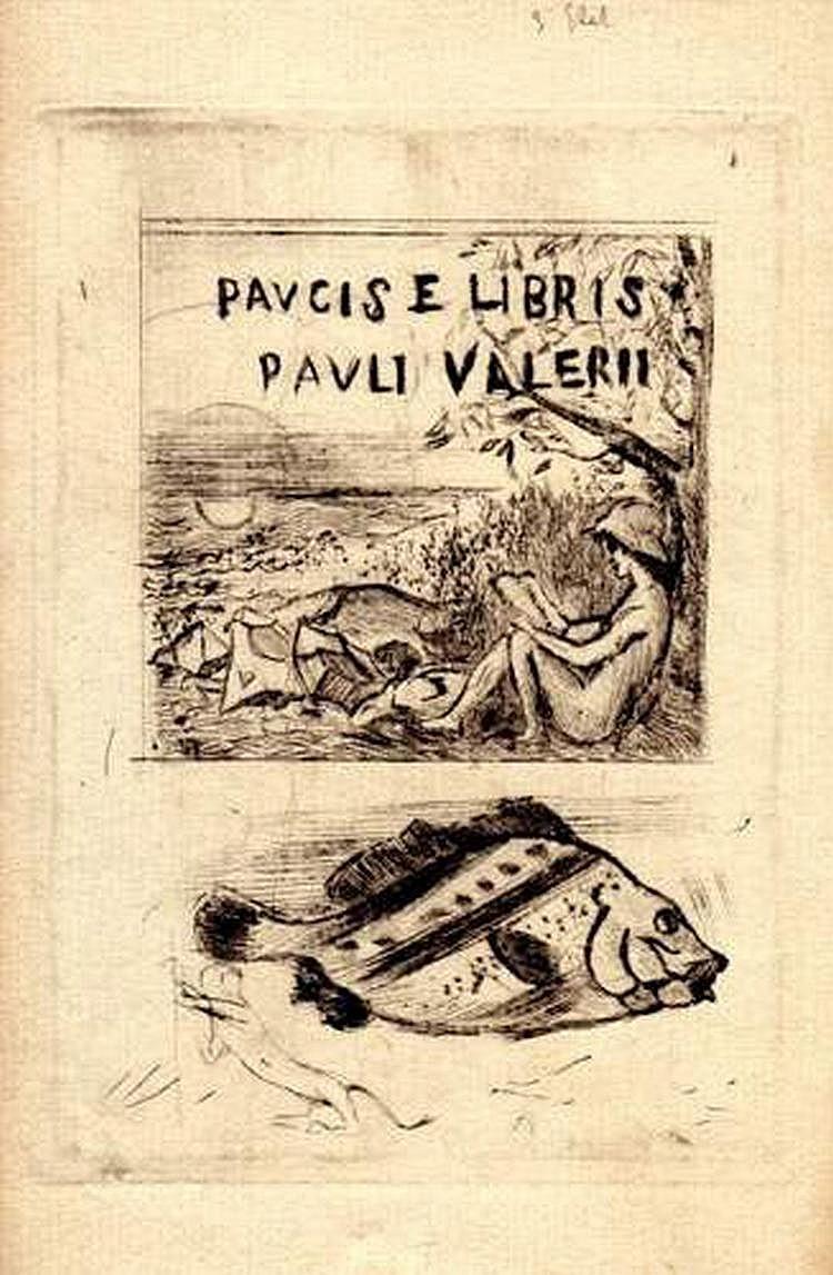 PAUL VALÉRY (1871-1945) - Paucis e Libris Pauli
