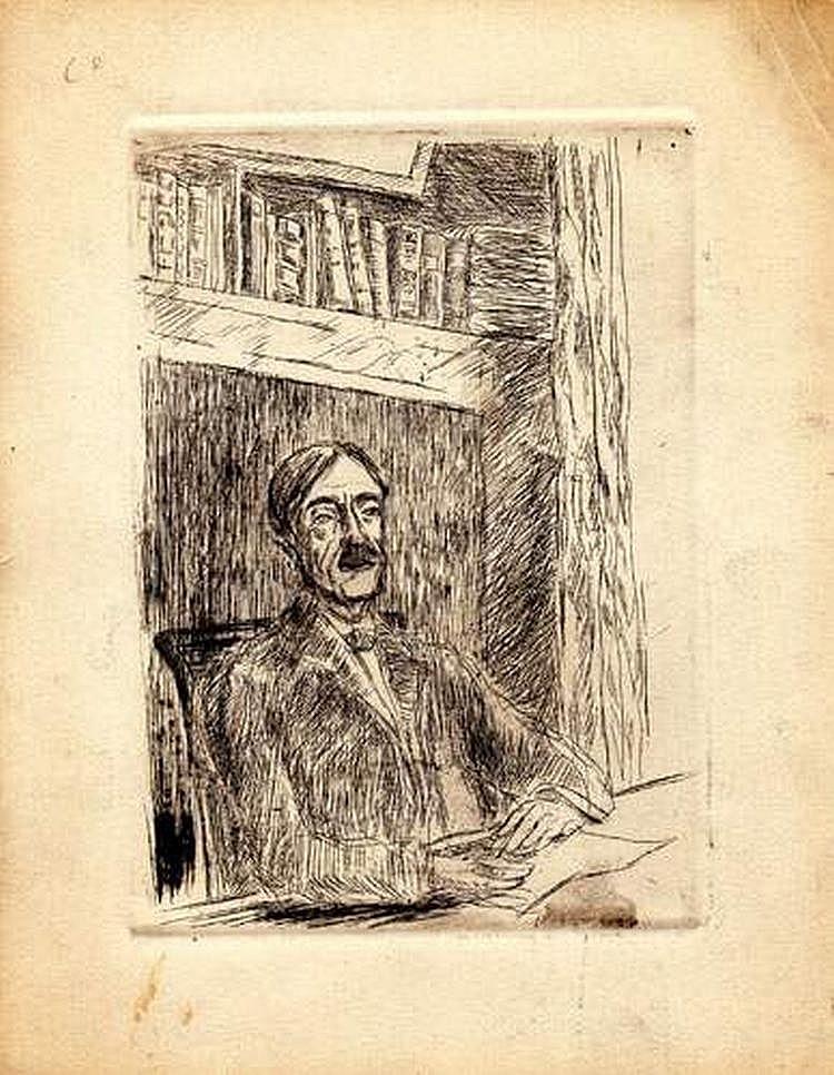 PAUL VALÉRY (1871-1945) - [Autoportrait de