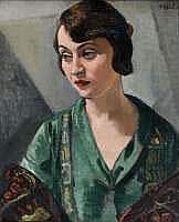 François-Zdenek EBERL (1887-1962) : FEMME EN