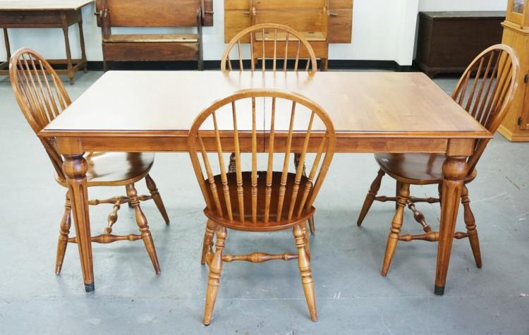 Ethan Allen Cherry Dining Table