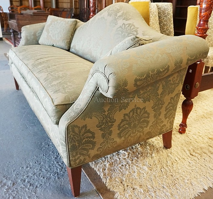 ETHAN ALLEN HUMPBACK SOFA APPROX 80 INCHES LONG