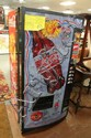 1996 ATLANTA OLYMPIC COCA-COLA MACHINE; AUTOGRAPHED BY OLYMPIC ATHLETES; MACHINE IS SET UP FOR FREE SODAS AND WAS RAFFLED OFF AFTER THE OLYMPICS
