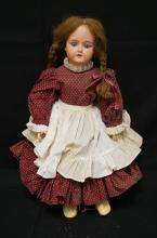27 INCH ARMAND MARSEILLE 390 BISQUE HEAD DOLL, COMPOSITION BJ BODY, NEW WIG & CLOTHES, MARKED MADE IN GERMANY / 390 / A 0 M