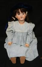 31 INCH ARMAND MARSEILLE 390 BISQUE HEAD DOLL, COMPOSITION BJ BODY, NEW WIG/CLOTHES, MARKED MADE IN GERMANY / ARMAND MARSEILLE / 390N / A 13 M
