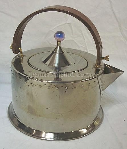 BODUM MODERN TEA KETTLE DESIGNED BY C. JORGENSEN,