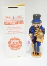 STEINBACH NUTCRACKER IN ORIGINAL BOX. *SCROOGE*. S896. LIM ED OF 7500 & SIGNED. 16 1/2 IN.