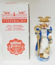 STEINBACH NUTCRACKER W/BOX. *PETRUS* S1694. 16 IN  SIGNED.