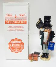 STEINBACH NUTCRACKER W/BOX. *MARLEY'S GHOST* S1819. LIM ED OF 7500. SIGNED. 17 1/2 IN.