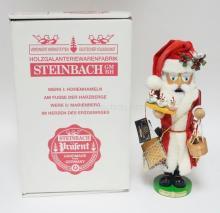STEINBACH NUTCRACKER W/BOX. *12 DAYS OF CHRISTMAS II* S1882. LIM ED 34/7500. SIGNED. 18 IN.
