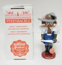 STEINBACH NUTCRACKER W/BOX. *ARAMIS*. S722. SIGNED. 11 3/4 IN.