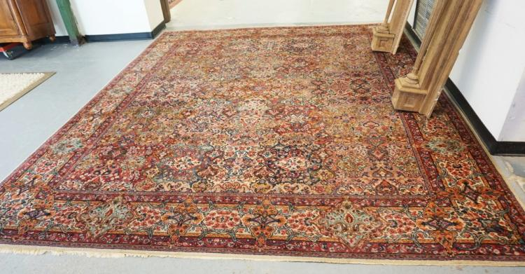 Room Size Rug Measuring 10 Ft 4 Inches X 12 Feet
