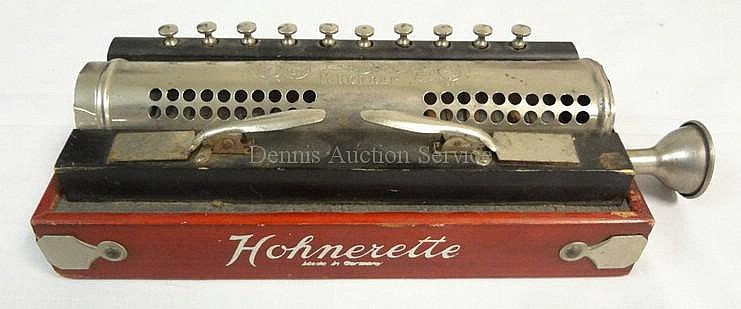 HOHNER *HOHNETTE* MUSICALL INSTRUMENT; 10 IN WIDE