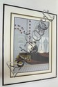 FRAMED LIM ED PRINT BY DEL VALLE, TITLED *OPENING