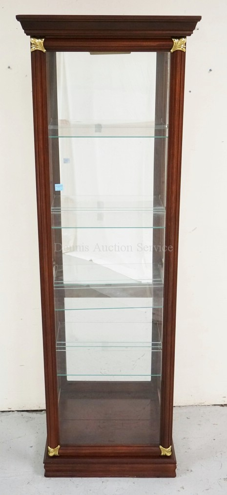 Pulaski Display Cabinet Featuring A Lighted Interior Glass