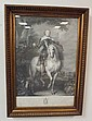 FRAMED ENGRAVING; *FRANCISCI DE MONCADA*; 16 1/2