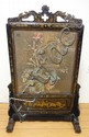 19TH C. CHINESE BLACK LACQUER, GILT DECORATED