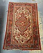 2 FT 8 IN X 4 FT 1 IN ORIENTAL THROW