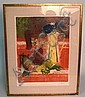 STILL LIFE LITHOGRAPH; ARTISTS PROOF, SIGNED; 15