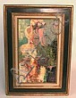 O/C SIGNED LABIEN? OF A NUDE; 9 1/2 IN X 16 IN