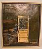 O/C SIGNED LEIF ANDERSON; EXTERIOR DOOR SCENE; 24
