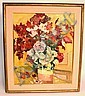 O/C SIGNED M. NESS; COLORFUL STILL LIFE; 19 IN X