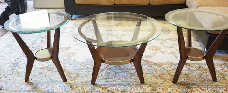 3 piece living room table set coffee table and 2 lamp table