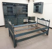 6 PIECE BEDROOM SET BY *CONANT BALL*.