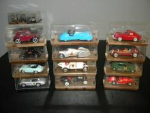 LOT OF 12 BRUMM DIE CAST MODEL CARS IN ORIGINAL BOX