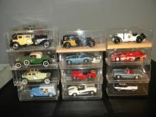 LOT OF 12 VITESSE DIE CAST MODEL CARS IN ORIGINAL BOX